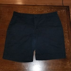 Riders by Lee black long shorts size 18